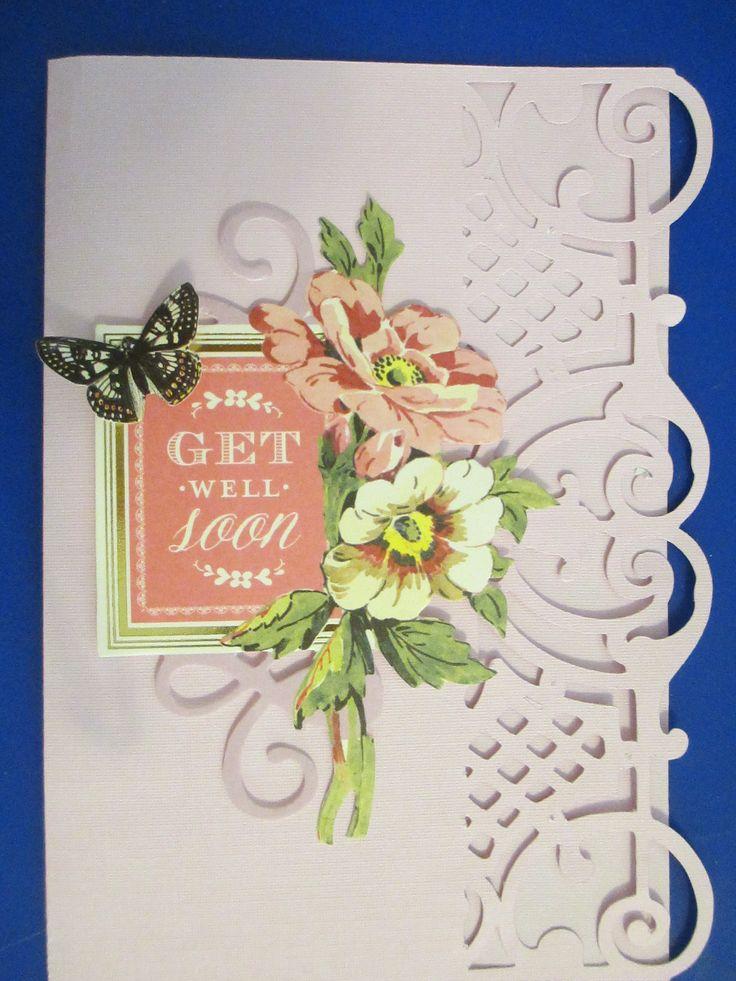 Wonderful Card Making Embellishment Ideas Part - 10: Elegant Embellishments Cartridge--Anna Griffin