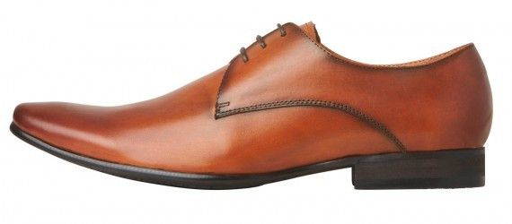 Windsor Smith - Rocket Chestnut Leather Shoe