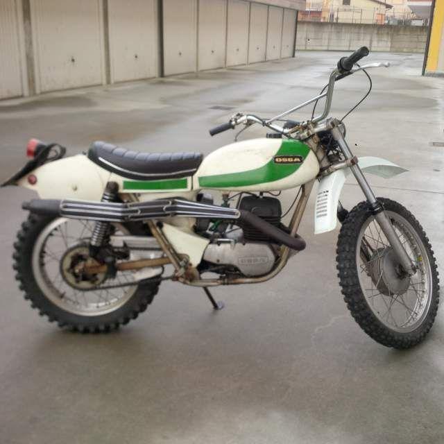 Moto cross epoca Ossa 250