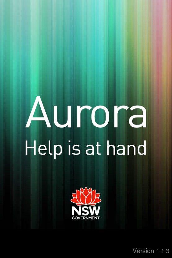 Project: Aurora Client: Department of Family and Community Services NSW https://itunes.apple.com/au/app/aurora/id611015460?mt=8