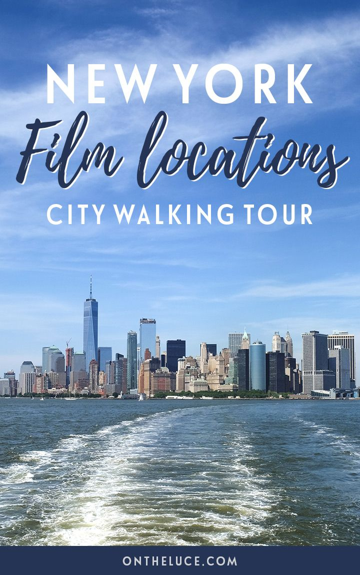 A New York film locations self-guided city walking tour around Manhattan, featuring locations from iconic films such as Ghostbusters, When Harry Met Sally and Breakfast at Tiffany's. #NewYork #NYC #film
