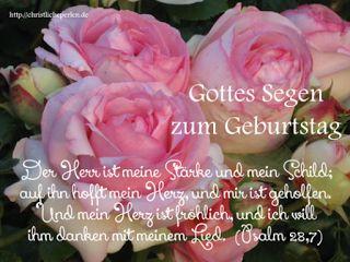 Spruche zum geburtstag mit rosen