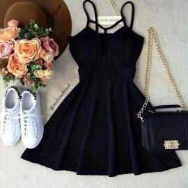moda, preto, and moda feminina