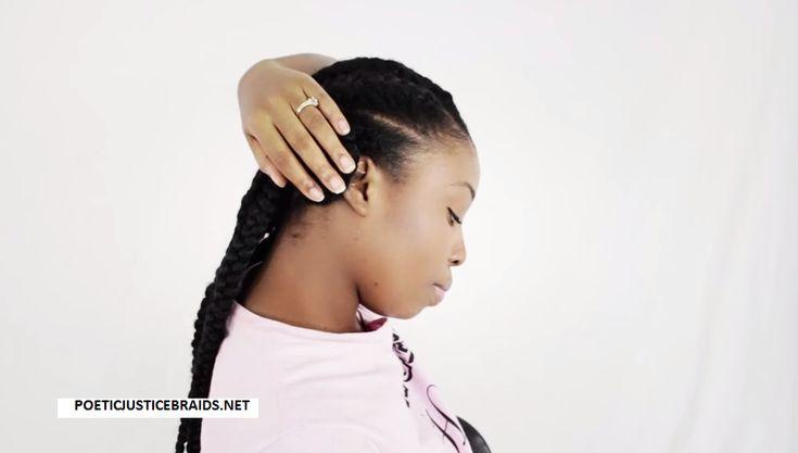 3 Goddess Braids Hairstyles: 48 Best Images About PoeticJusticeBraids.net On Pinterest