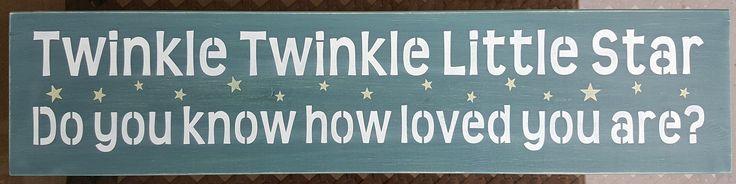 Twinkle Twinkle by akawoodsigns on Etsy