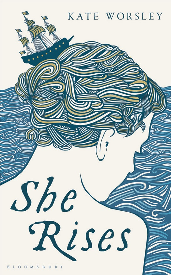 SHE-RISES by Kate Worsley. Cover by Holly MacDonald via Jackie Magpie Blog.