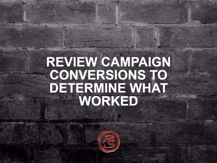 Just finished an online campaign or still in the middle of one? Review your analytics to determine what did and didn't work in your campaign. You can put this into practice for your next campaign or even tweak the current one to optimise results and get the best bang for your buck.    #RockSocial #RockSM #OnlineAdvertising #SocialCampaigns #SocialMedia