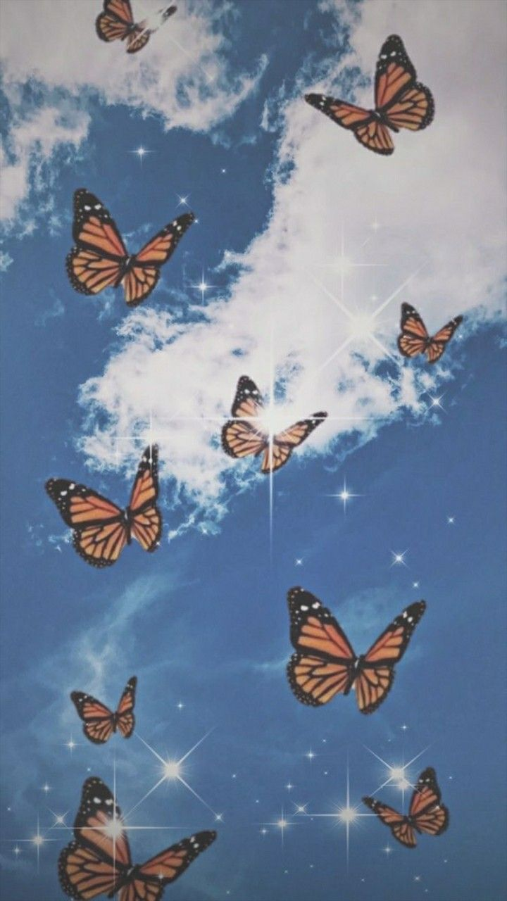 aesthetics butterfly wallpaper iphone iphone