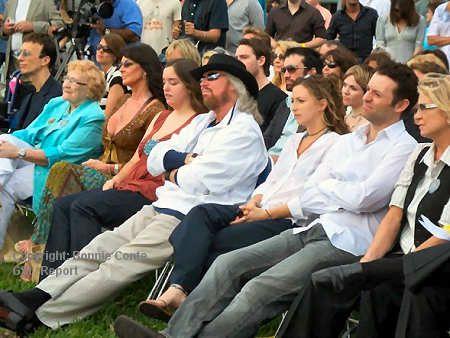 Maurice Gibb Park Dedication