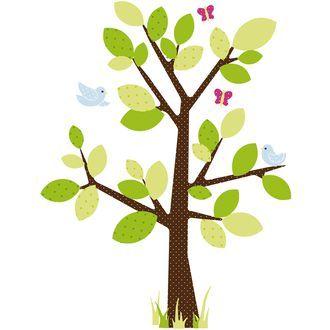 Wandsticker Baum, 47 Teile - Jederzeit offen für Zimmer-Reisen... ♥ sorgfältig ausgewählt ♥ Jetzt online bestellen!
