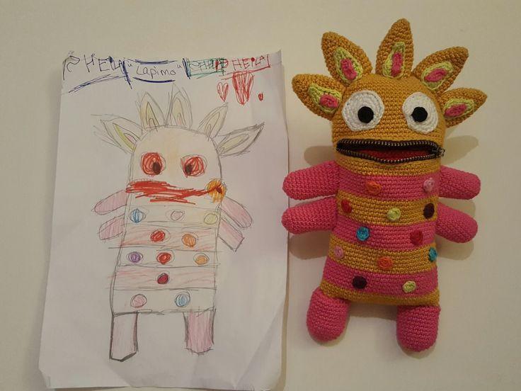 Amigurumi, häkeln, crochet, kostenlos, free, monster – #Amigurumi #crochet #fre…