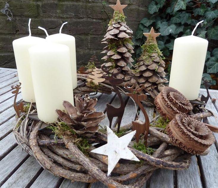 Sehe dir das Foto von Bea-Gassner mit dem Titel Wunderschöner Weihnachtskranz und andere inspirierende Bilder auf Spaaz.de an.