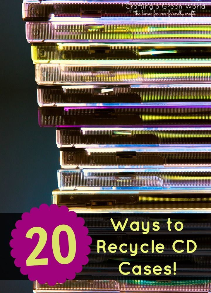 DIY Crafts: 20 Ways to Recycle CD Cases! - Crafting a Green World