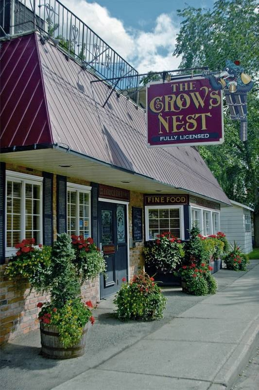 The Crow's Nest Pub and Restaurant, Newmarket, Ontario, Canada. It used to be called Pirates Cove. My Step-Dad and I used to walk there for lunch on nice warm days during summer vacation.