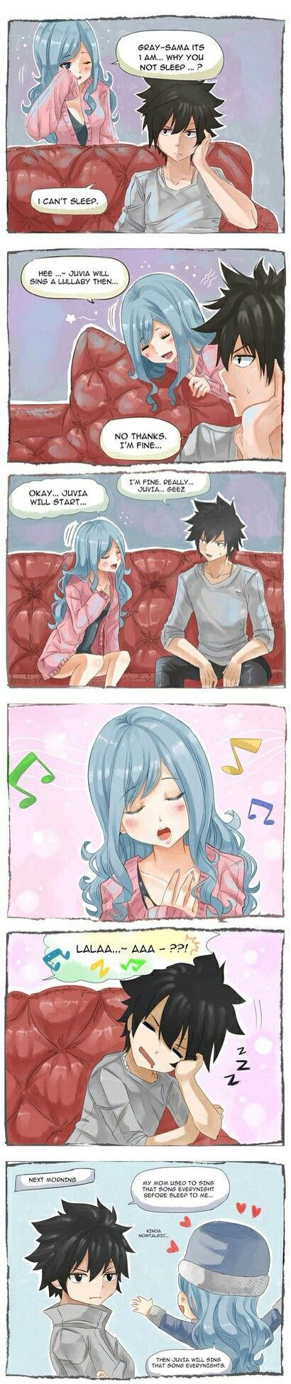 Oh My Mavis!!! This is adorable >///< ♡♡♡♡♡♡♡♡♡♡♡♡♡♡
