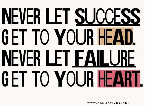 Success and failure #quotes