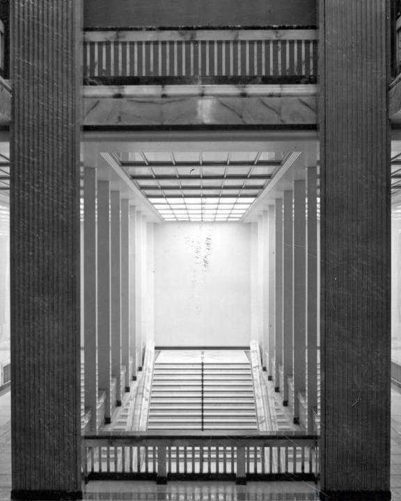 MSZ, the building of the Ministry of Foreign Affairs, arch. Bohdan Pniewski bud.1935-37,  demolished 1944