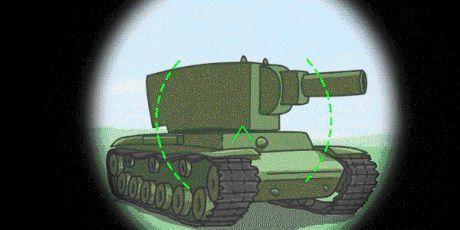 A regular World of Tanks match