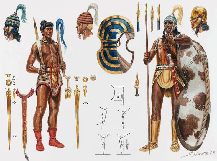 Minoan warriors