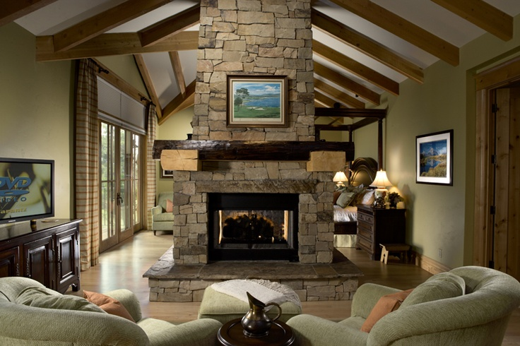 32 Best Images About Double Sided Fireplaces On Pinterest