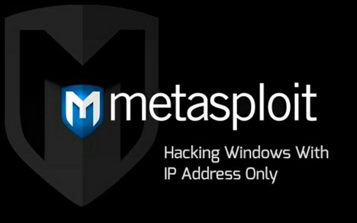 Hack Windows With IP Address Only - TricksKreators