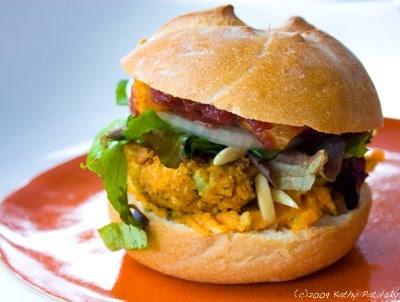 "Recipe: ""Thanksgiving in July"" Backyard Burgers. Vegan. - Healthy. Happy. Life."