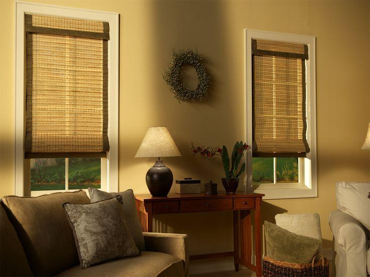 Бамбуковые жалюзи - изюминка в интерьере! #window #blinds #interior #шторы #жалюзи #декорокна #римскиешторы #romanblinds