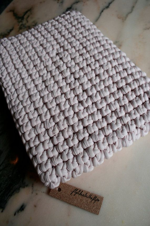 Knitted Macbook sleeve.