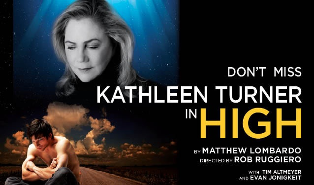 Kathleen Turner in High, at the Royal Alexandra Theatre