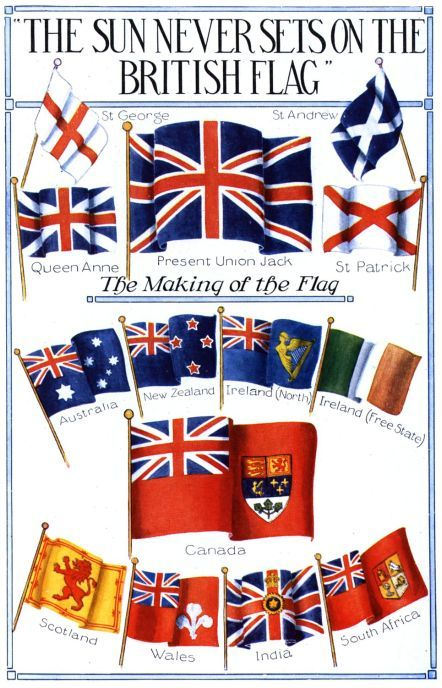 British Flag  This saying was true when I was a child