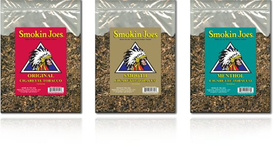 Smokin Joes Premium Blended Pipe Tobacco