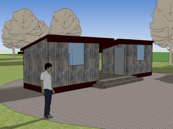 76 best dog trot houses images on pinterest dog trot for House plans dog trot style