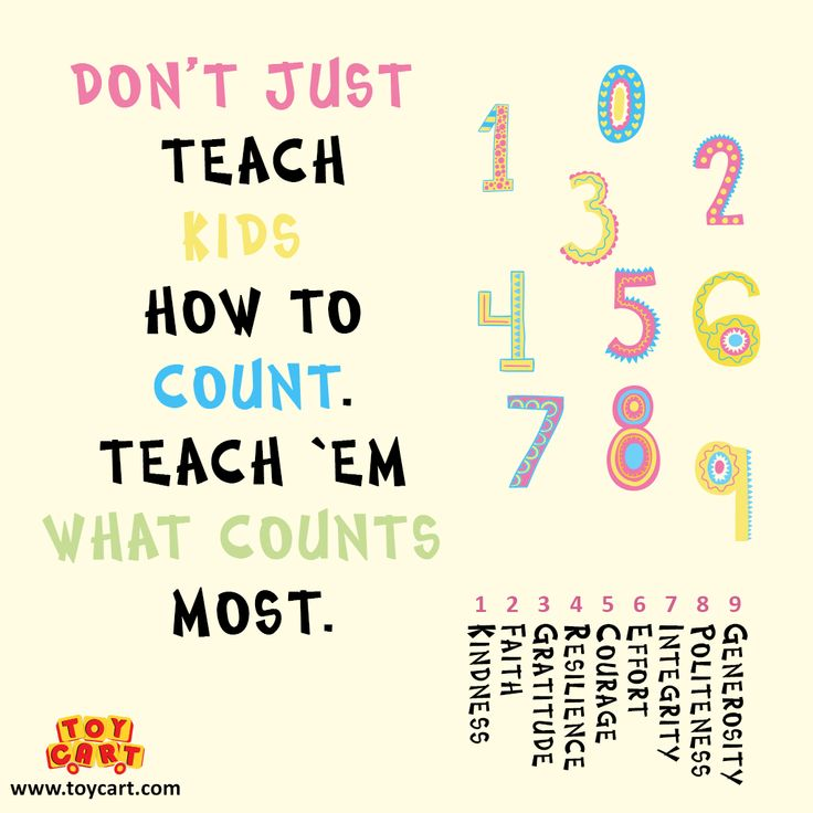 Let's teach our kids... What counts the most! #kids #teach #countsthemost #letsteach #kindness #faith #gratitude #importantlessons #joysforall