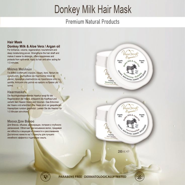 Donkey Milk Hair Mask 280ml
