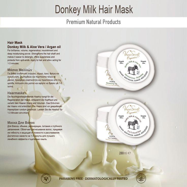 Donkey Milk Hair Mask 280ml