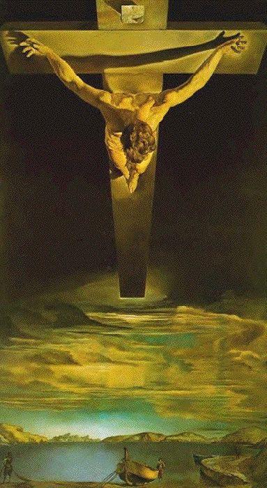 Salvador Dali: Le Christ de saint Jean de la Croix (1951)