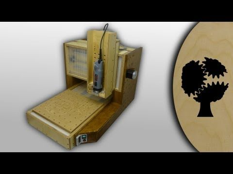 """Video of the wooden CNC Router """"Solidis"""" from Christopher Blasius. Plans available at holzmechanik.de"""