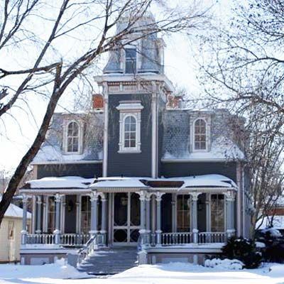Queen Annes are plentiful in Yankton, South Dakota. Also known for its quiet streets, fine schools, super-low crime, and the 90,000-acre Lewis & Clark Lake, this former capitol of the Dakota Territory is a popular homestead for young families, retirees, and anyone else seeking old-fashioned small-town charm and inspiring natural landscapes.   Photo: Dan Specht   thisoldhouse.com