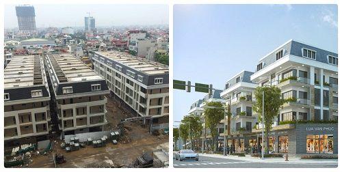 Có thể kể tới Goldsilk (430 Cầu Am, Hà Đông) – do TNR Holdings Việt Nam phát triển luôn đảm bảo tiến độ kể từ khi mở bán. Hiện tại, khu chung cư đã cất nóc và đang trát trong, trát ngoài, sơn bề mặt. Trong khi đó, khu liền kề đã hoàn thiện 3 dãy và đang trong giai đoạn chỉnh trang cuối cùng trước khi bàn giao. Phần chung cư đang được áp dụng mức giá chỉ từ 19,5 triệu đồng đến 21