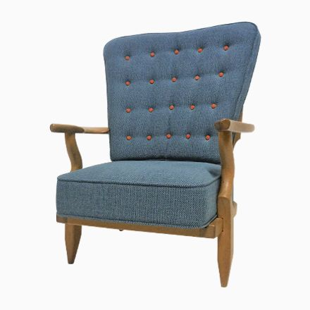 Vintage Sessel von Guillerme et Chambron für Votre Maison Jetzt bestellen unter: https://moebel.ladendirekt.de/kueche-und-esszimmer/stuehle-und-hocker/armlehnstuehle/?uid=66071a0e-5395-5e75-a3df-6b618e50f269&utm_source=pinterest&utm_medium=pin&utm_campaign=boards #kueche #esszimmer #armlehnstuehle #hocker #stuehle