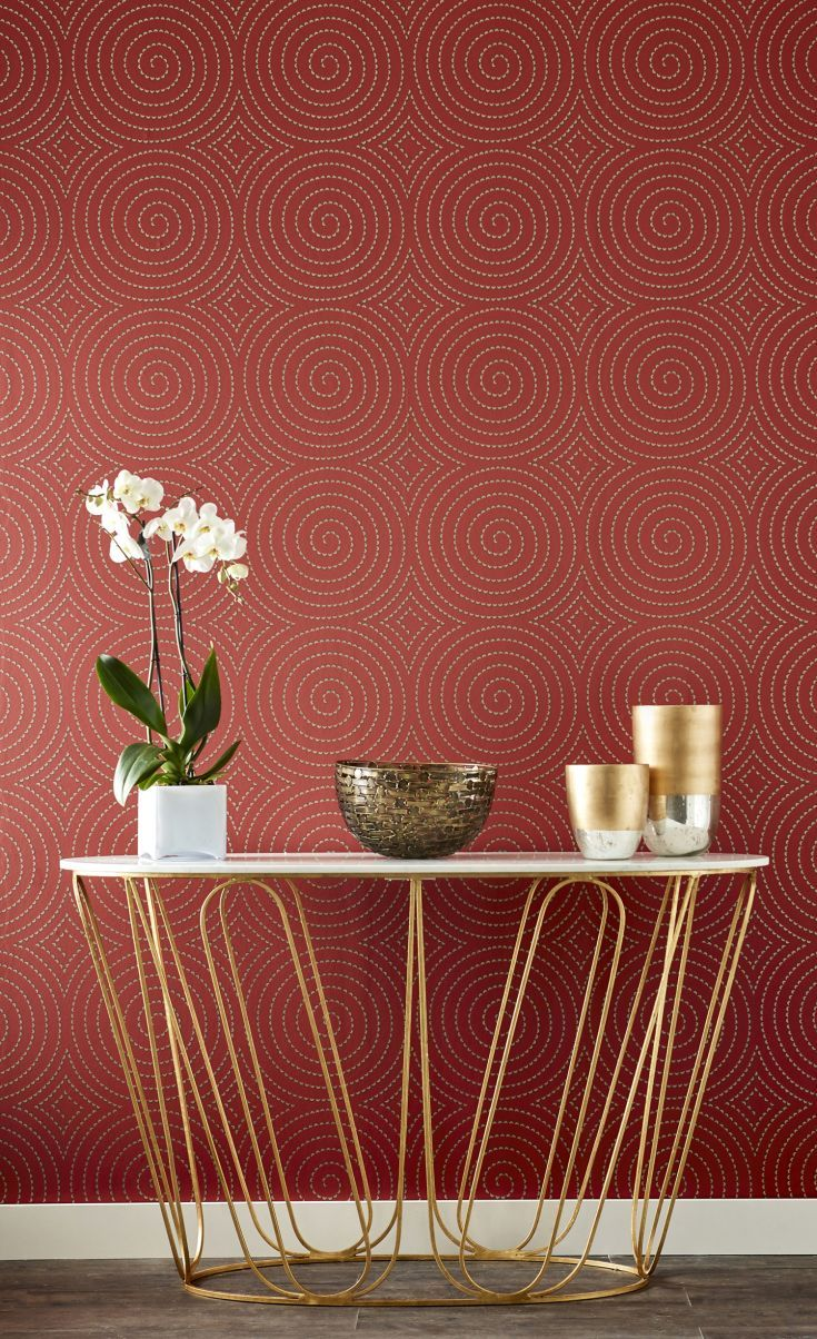 The elegant new Harlequin Momentum 4 wallpaper collection is bound to make an impact on any interior.