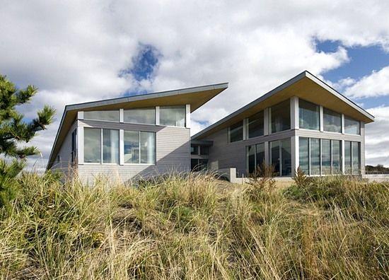 Energy efficient beach house model