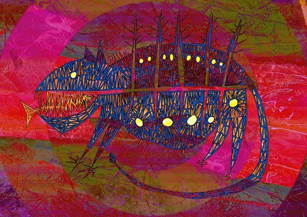 Digital drawings on Behance