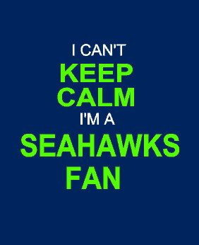 i can't KEEP CALM i'm a Seattle Seahawks fan long sleeve shirt on Etsy, $35.00