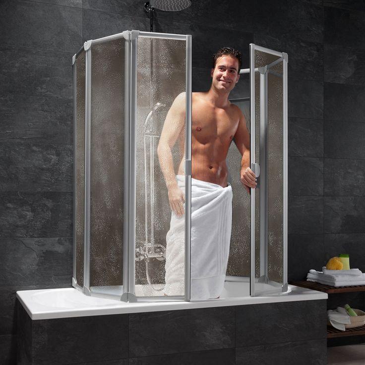 duschabtrennung für badewanne schulte Duschwand