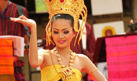 Danza tailandesa.