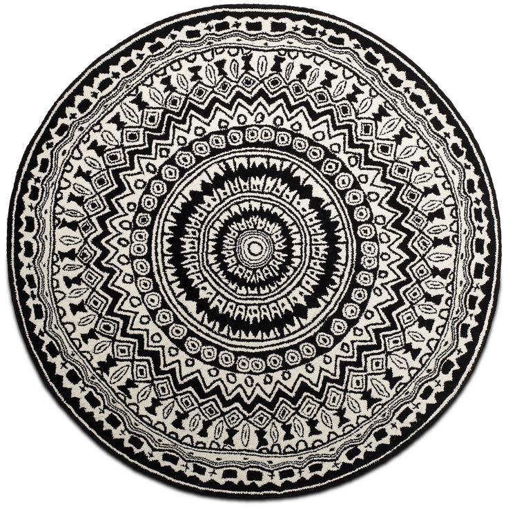 Round rug / Rundt tæppe, Ethno Chic - By BoConcept