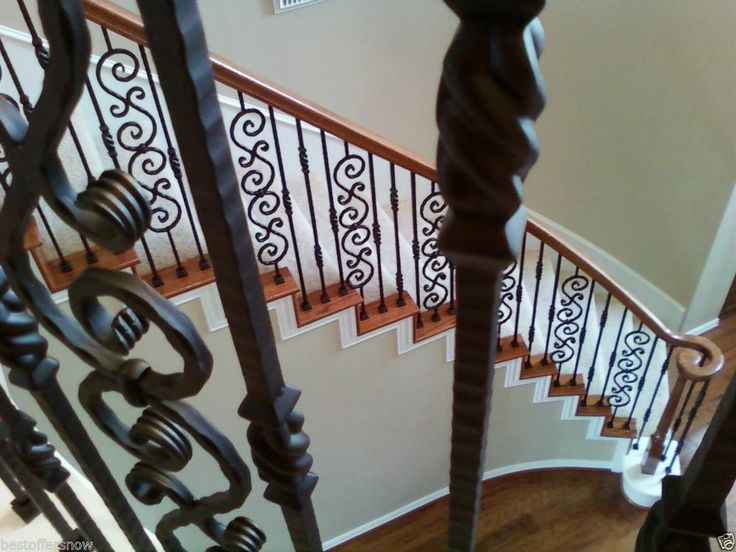 Houston Stair Parts Offer You Beautiful Stair Iron Newels With Professional  Installation Available Also Stair Balusters, Spindles, Staircase Handrail  ...