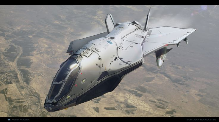 ArtStation - AUK-17 Aukenk, Juan Novelletto