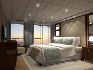 Penthouse suite on the Celebrity Equinox